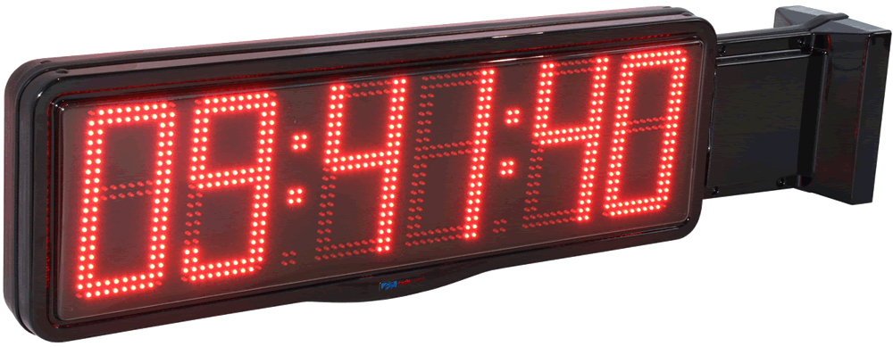 Large Digit LED Perpendicular Mounted Case