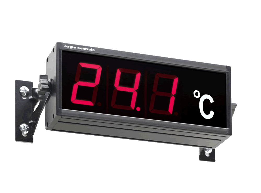 Wall Mounted Large Digit Display Example