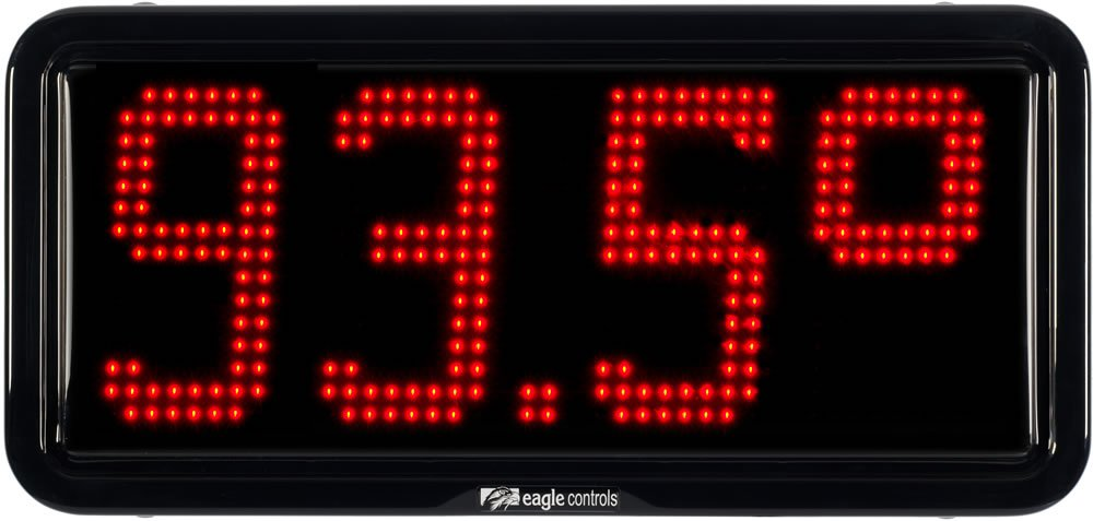 Commercial Temperature Display